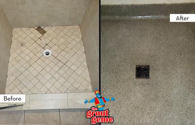 Shower Floor Replacement