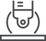 grout sealing icon