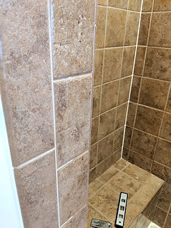 grout cleaning of shower