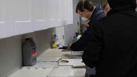 tile grout and thinsets workshop