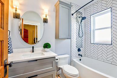 bathroom with sink and tub