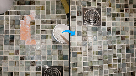 tile replacement and repair