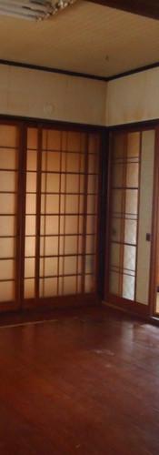 キッチンから和室を見る.JPG