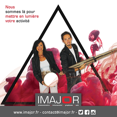 imajor agence de communication, graphisme, evenementiel, web