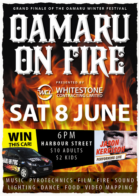 OAMARU ON FIRE 2019