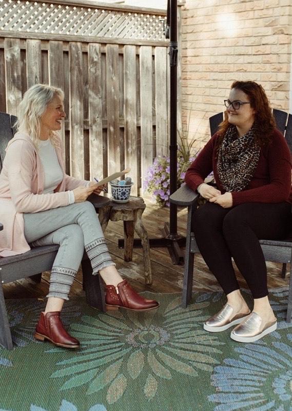 Cheryl Hiebert and Kimberley Falk speaking about Reiki