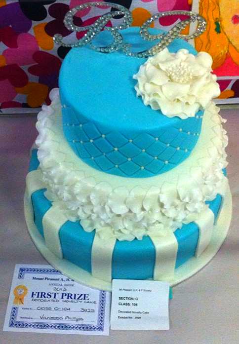 Wedding Cake - Sky Blue #50