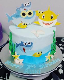 #cake #birthday #birthdaycake #babyshark