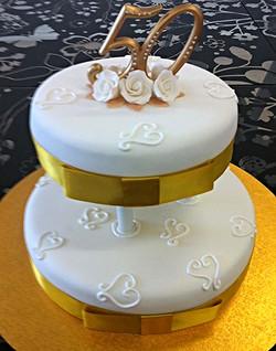 Wedding #21 - Gold with Pillars