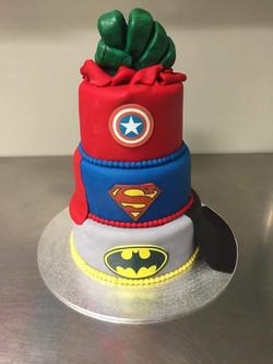 Wedding Cake - Super Heros #44