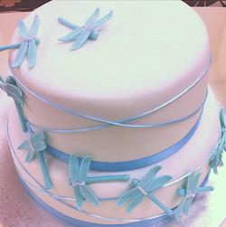 Wedding Cake Dragon Flies #52