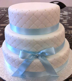 Wedding Cake Blue #51