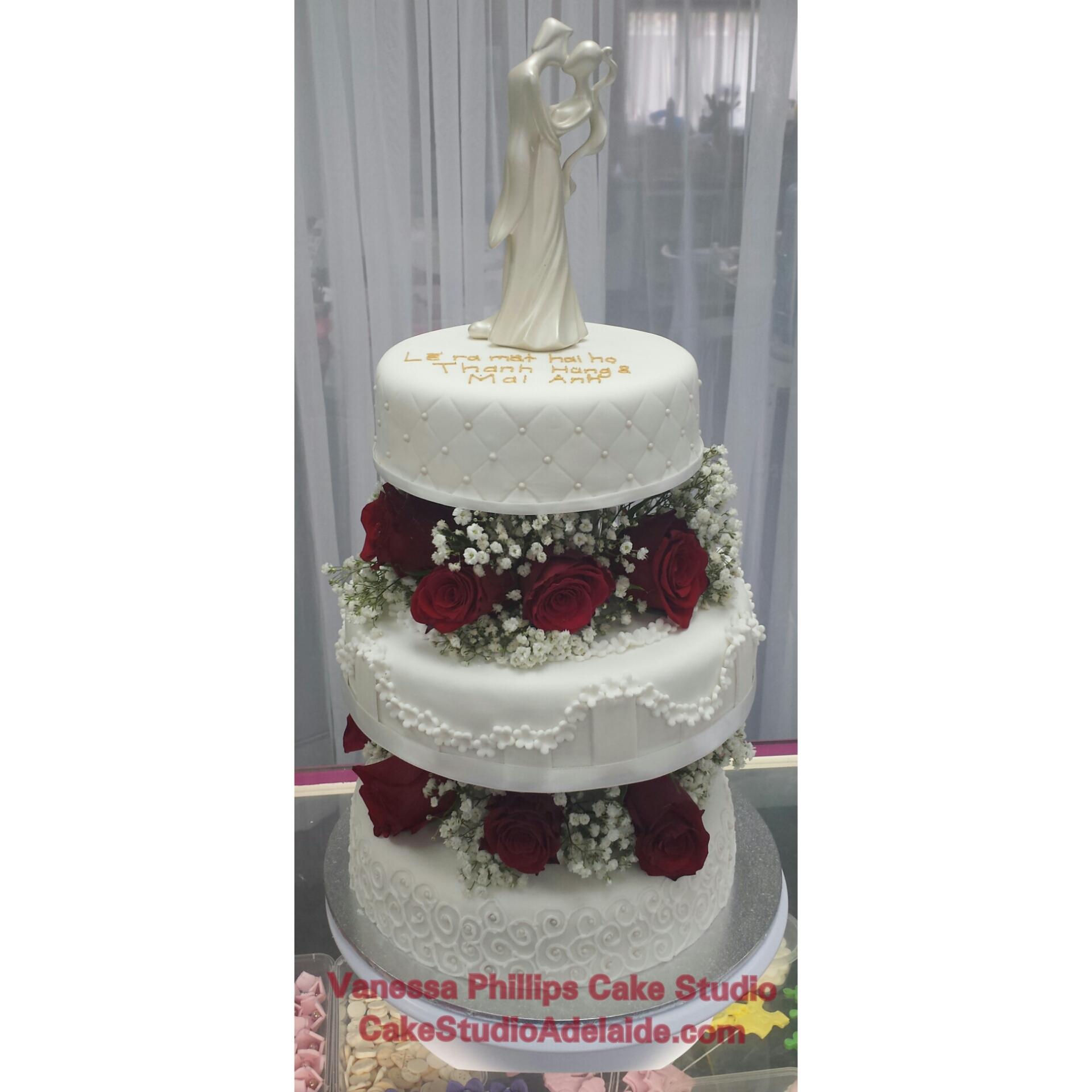 Wedding Pillars & Roses #20