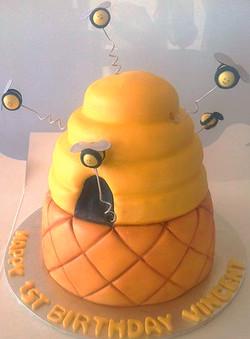 Bee Cake 2 Tier #60