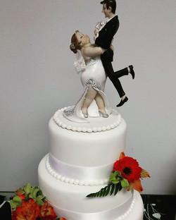 Another beautiful wedding cake