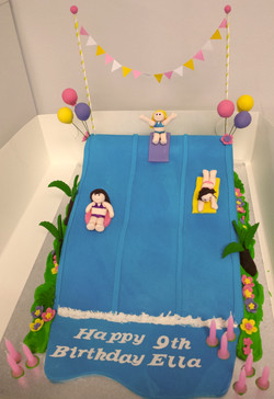 Cake - Water slide #5