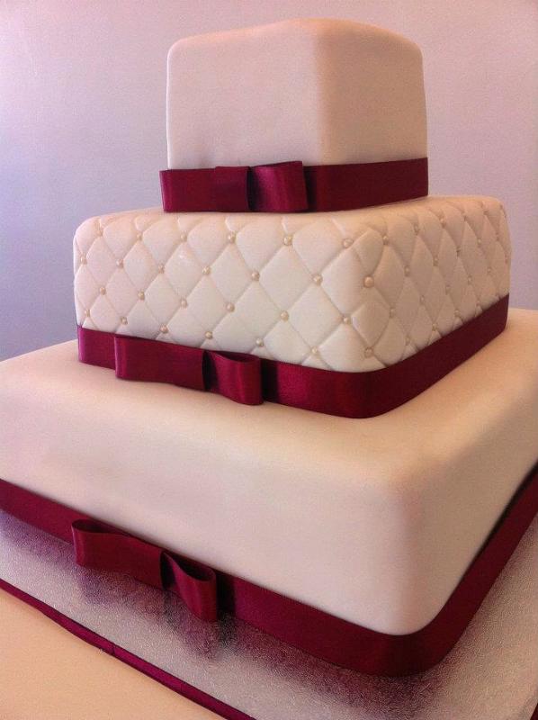 Wedding Cake Square #55