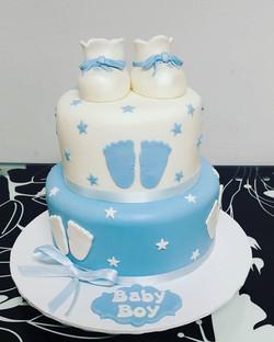 #cake #cakedecorating #babyshowercake #b
