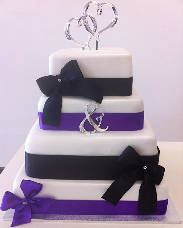 Wedding Cake Square #54