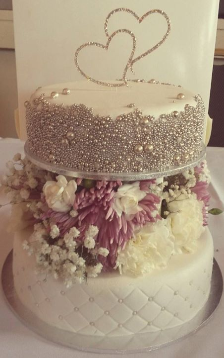 Wedding Pillars - Fresh Flowers #19