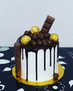 We will have 10 of these chocolate drip