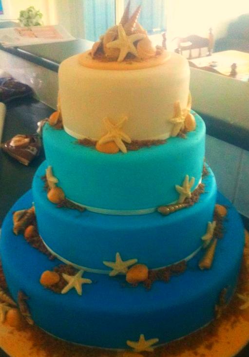 Wedding Cake - Sea #49