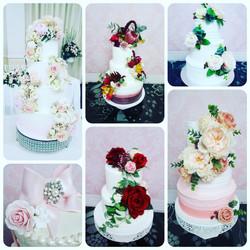 cake collage wedding
