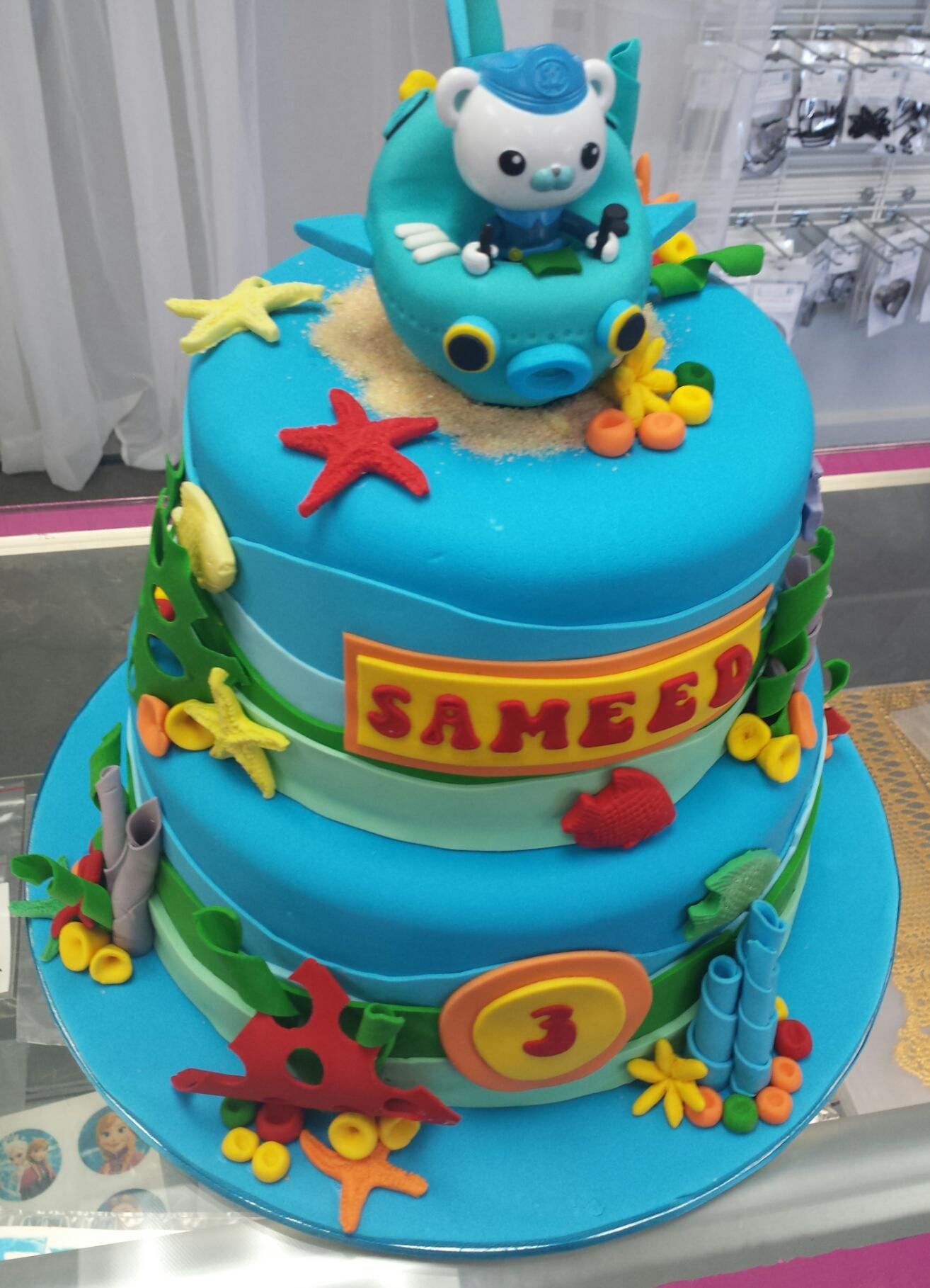 Cake #7 Octonaughts
