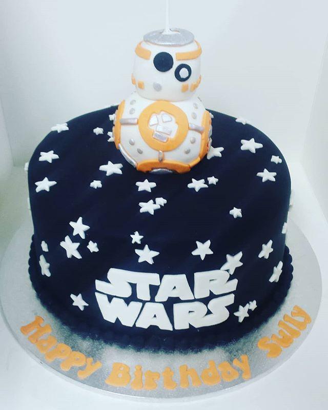 #cake #birthday #birthdaycake #starwarsc