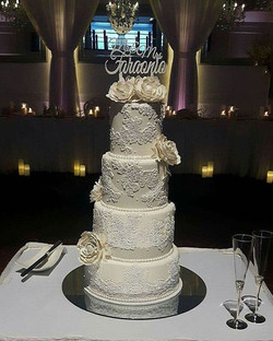 Loved doing this wedding cake for such a