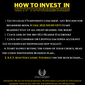 How can you get in the crypto game?