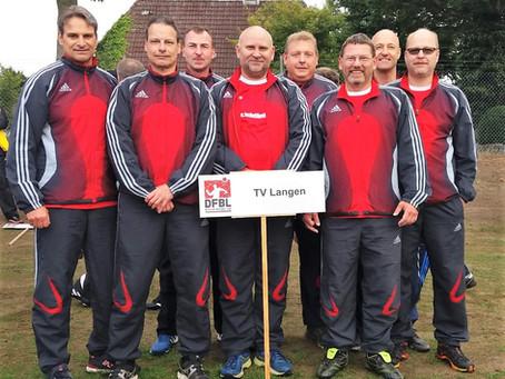 TVL Faustball-Senioren sieglos bei den deutschen Meisterschaften