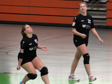 Faustball-Bundesligafrauen wieder nur mit 2:2 Punkten