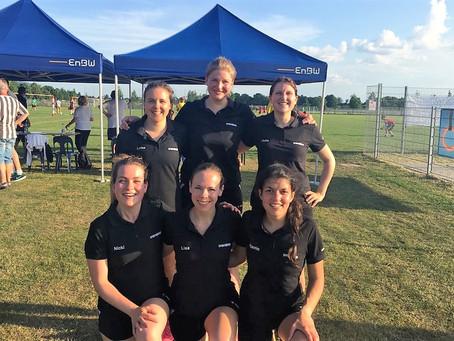 Langener Faustballfrauen erreichen 2. Platz beim 15. Rothaus Fluchtlicht-Cup