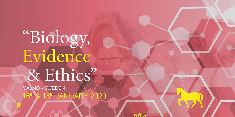 """Annual Congress 2020: """"Biology, Evidence and Ethics in Equine Dentistry"""""""