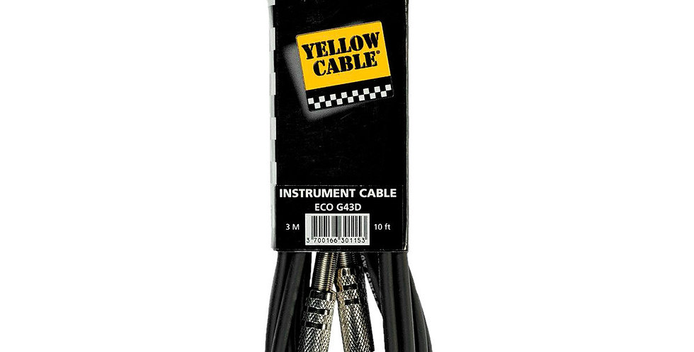 CABLE JACK JACK 3M-G43D - YELLOW CABLE