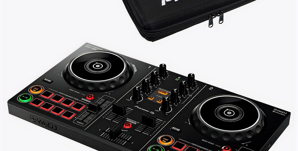 PIONEER DJ DDJ 200 + DJC 200 BAG
