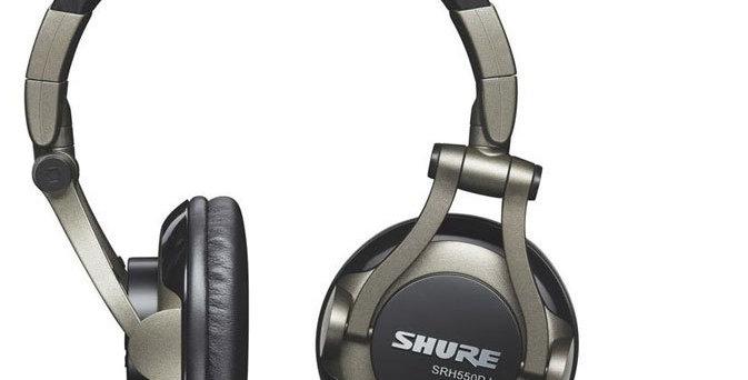 CASQUE DJ SRH550DJ - SHURE
