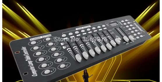 Console DMX 192 éclairage de scène contrôle DMX