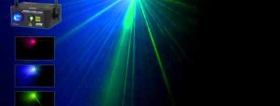 Laser Dune beamer  vert ou bleu