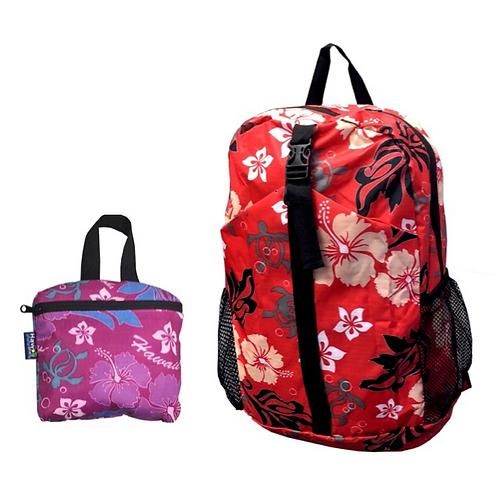 Hawaii Spirit Foldable Backpack (FB-1034)