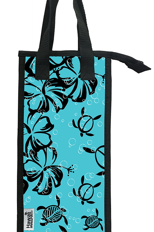 Hawaii Spirit Wine Bottle Insulated Tote 3H (001)