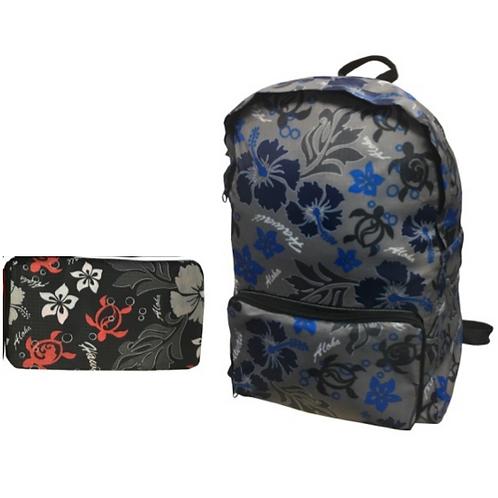 Hawaii Spirit Foldable Backpack (FB-1018)
