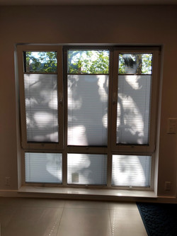 white windows with shades special order