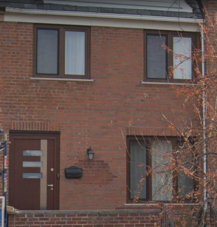 dark oak windows and wood door middle vi