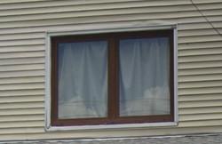 walnut colored windows 2