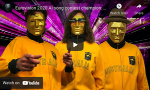 NY Times, on the AI Song Contest