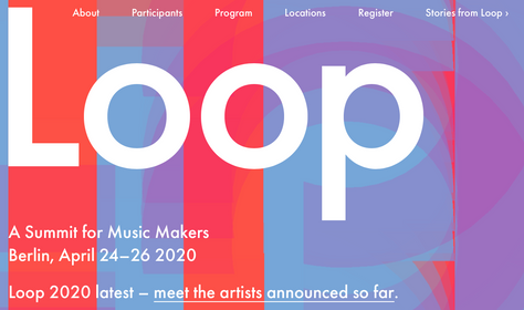See you in Berlin @ Ableton Loop 2020!