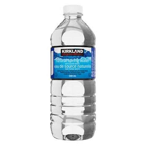 Agua embotellada / Bottled water