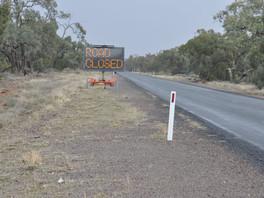 Wanaaring roadworks begin